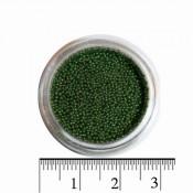 Бульонки для ногтей в баночке 16 темно-зеленый