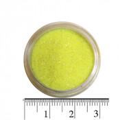 Блестки (песок) для декора ногтей в баночке 15 лимонные