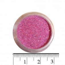 Розово-лиловые блестки (песок) для декора ногтей в баночке