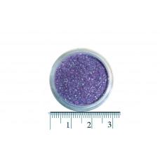 Светло-сиреневые блестки (песок) для декора ногтей в баночке