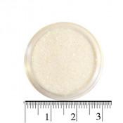 Блестки (песок) для декора ногтей в баночке 46 белые