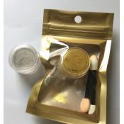 Зеркальная втирка Metallic Powder золотая 1г