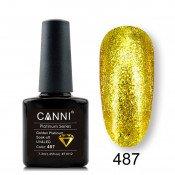 Гель-лак Canni Platinum 487 Золотой
