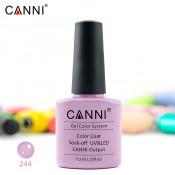 Гель-лак Canni 244 лиловый 7,3 мл