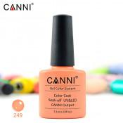Гель-лак Canni 249 нежно-оранжевый 7,3 мл