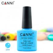 Гель-лак Canni 254 небесно-голубой 7,3 мл