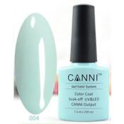 Гель-лак Canni 004 Нежно-голубой 7,3 мл