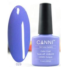 Гель-лак Canni 029 Темно-лавандовый 7,3 мл