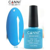 Гель-лак Canni 036 Голубая бирюза 7,3 мл