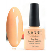 Гель-лак Canni 046 Светлый оранжево-бежевый 7,3 мл