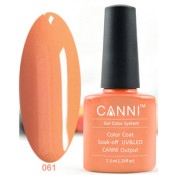 Гель-лак Canni 061 Розовый персик 7,3 мл