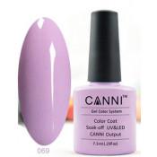Гель-лак Canni 069 Пастельно-лиловый 7,3 мл