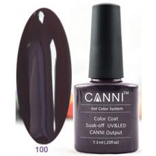 Гель-лак Canni 100 Фиолетово-черный 7,3 мл