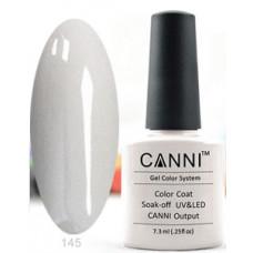 Гель-лак Canni 145 Серо-белый 7,3 мл