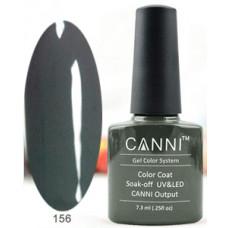 Гель-лак Canni 156 Платиново-серый 7,3 мл