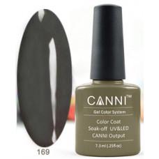 Гель-лак Canni 169 Оливково-зеленый  7,3 мл