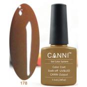 Гель-лак Canni 178 Темно-горчичный 7,3 мл