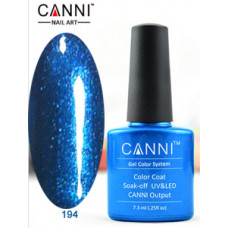 Гель-лак Canni 194 Синяя жемчужина  7,3 мл