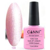 Гель-лак Canni 198 Светло-розовый жемчуг 7,3 мл