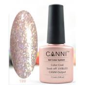 Гель-лак Canni 199 Нежно-розовый с блестками 7,3 мл