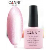 Гель-лак Canni 200 Розовый перламутровый 7,3 мл