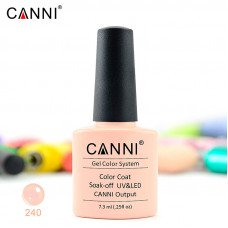 Гель-лак Canni 240 нежно-розовый 7,3 мл