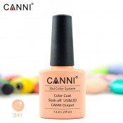 Гель-лак Canni 241-розовый для френча 7,3 мл