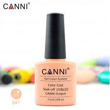 Гель-лак Canni 241 розовый для френча 7,3 мл