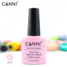 Гель-лак Canni 243 нежно-лиловый 7,3 мл