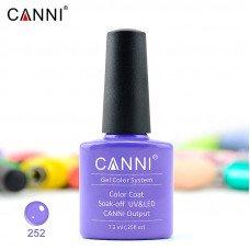 Гель-лак Canni 252 лавандовый 7,3 мл