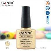 Гель-лак Canni 219 Светлое золото с мерцающим блеском 7,3 мл
