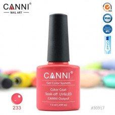Гель-лак Canni 233 Коралловый розовый 7,3 мл