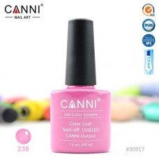 Гель-лак Canni 238 Лилово-розовый 7,3 мл