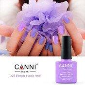 Гель-лак Canni 226 Светлый лиловый с шиммером 7,3 мл