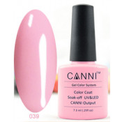 Гель-лак Canni 039 Розовый для френча 7,3 мл