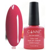 Гель-лак Canni 056 Темно-розовый 7,3 мл