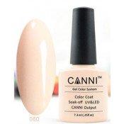 Гель-лак Canni 060 Пурпурно-белый 7,3 мл