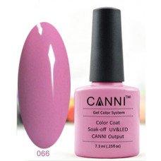 Гель-лак Canni 066 Розовато-лиловый 7,3 мл
