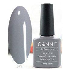 Гель-лак Canni 075 Серый 7,3 мл