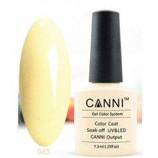 Гель-лак Canni 083 Светло-песочный 7,3 мл