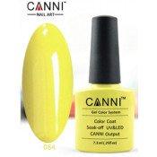 Гель-лак Canni 084 Молочно-желтый 7,3 мл