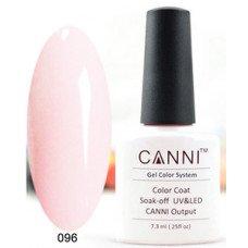 Гель-лак Canni 096 Бледно-розовый 7,3 мл