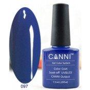 Гель-лак Canni 097 Темно-синий 7,3 мл
