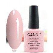 Гель-лак Canni 101 Бледно-пурпурный 7,3 мл