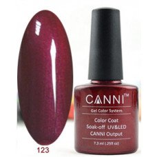 Гель-лак Canni 123 Таинственный красный 7,3 мл