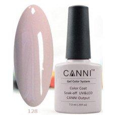 Гель-лак Canni 128 Светло-серый 7,3 мл
