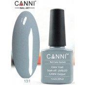Гель-лак Canni 131 Ярко-серый 7,3 мл
