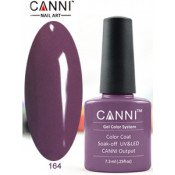 Гель-лак Canni 164 Темно-пурпурный 7,3 мл