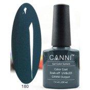 Гель-лак Canni 180 Океанская синь 7,3 мл