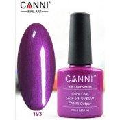 Гель-лак Canni 193 Пурпурная жемчужина 7,3 мл